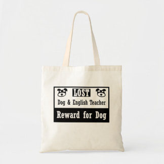 Lost Dog English Teacher Tote Bag