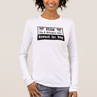 Lost Dog Helicoptor Pilot Long Sleeve T-Shirt