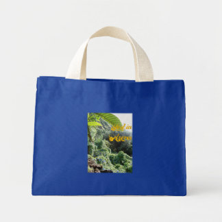 lost in azores mini tote bag