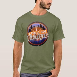 Lost In Michigan logo shirt