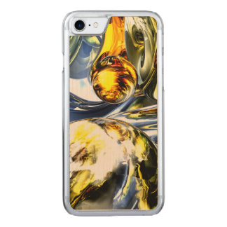 Lost in Space Abstract Carved iPhone 7 Case