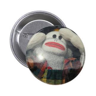 Lost in Space Monkey 2 Inch Round Button