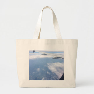 Lost in the Clouds Large Tote Bag
