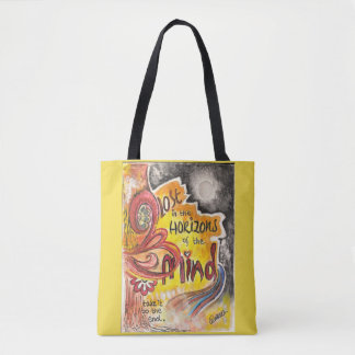 Lost in the Horizons of the Mind Tote Bag