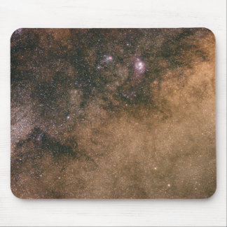 Lost in the Milky Way Mouse Pad