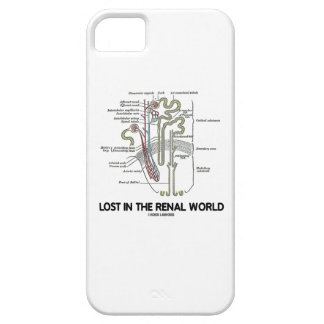 Lost In The Renal World (Kidney Nephron) iPhone 5 Case