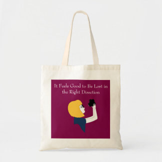 Lost in the Right Direction Tote
