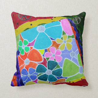 Lost in the Sixties! Throw Pillow