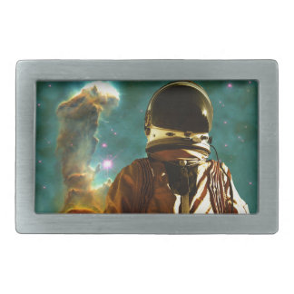 Lost in the Star Maker Rectangular Belt Buckle