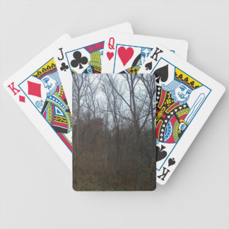 Lost in the tree lining poker deck