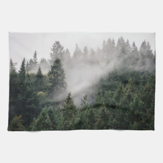 Lost in the woods hand towels
