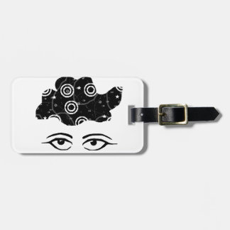 Lost in Thought Luggage Tag