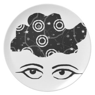 Lost in Thought Plate