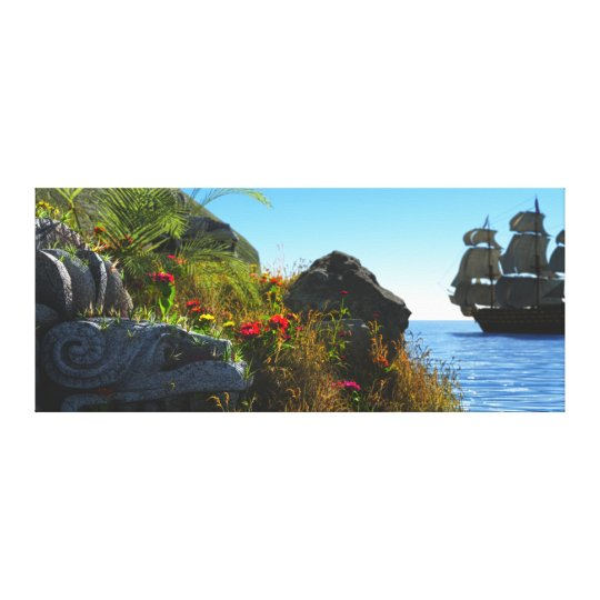Lost Island Canvas Print