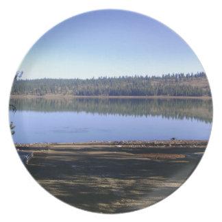 Lost Lake, Idaho Dinner Plates