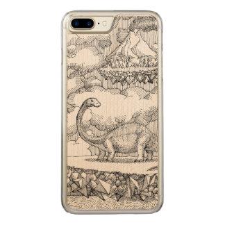 Lost Landers Carved iPhone 8 Plus/7 Plus Case