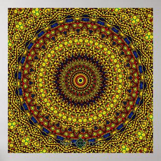 Lost Mandala Poster