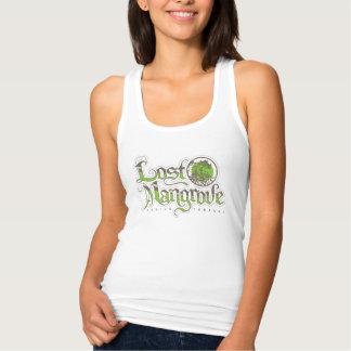 Lost Mangrove Racerback Slim Fit Tank