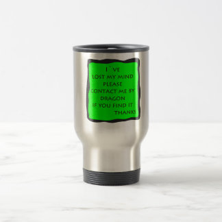 lost mind travel mug