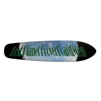 Lost Planet HooverBoardMen-BLUEgREEN II Skate Board Deck