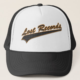Lost Records Baseball Hatl Trucker Hat