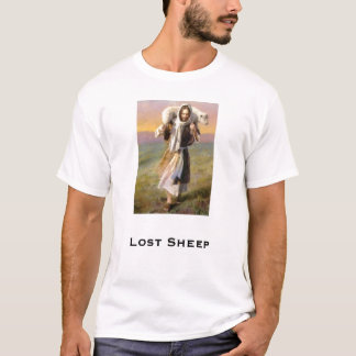 Lost Sheep - White T-Shirt
