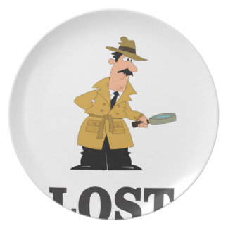 lost something plate