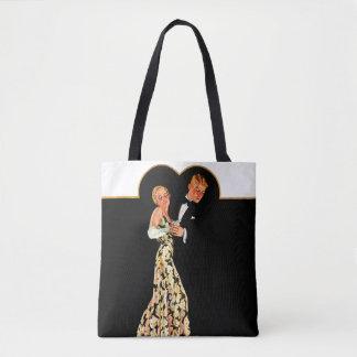 Lost Suspender Tote Bag