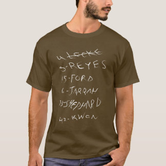 LOST - The Candidates T-Shirt