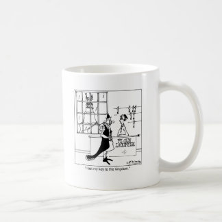 Lost The Key To The Kingdom Coffee Mug