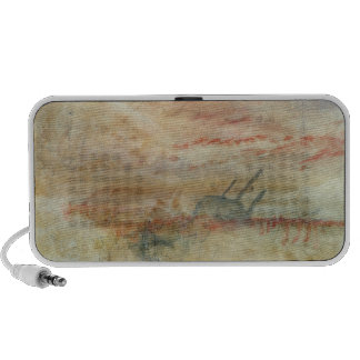 Lost to All Hope The Brig, c.1845-50 (w/c & graphi iPod Speakers