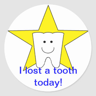 """Lost Tooth"" Stickers"