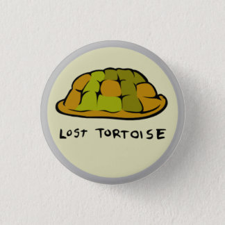 Lost Tortoise Shell Logo Button