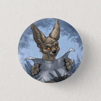 Lost Tourist Cat 1 Inch Round Button