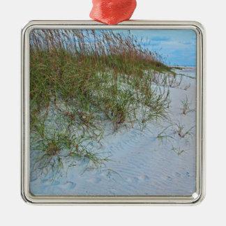 Lost Wish-FA.JPG Silver-Colored Square Ornament