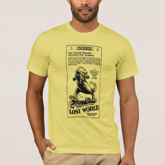 Lost World 1925 Arthur Conan Doyle novel T-Shirt