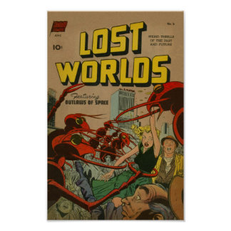 Lost Worlds Poster