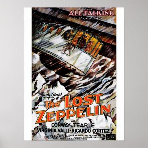 Lost Zeppelin Poster