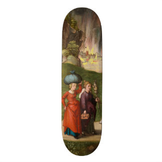 Lot and His Daughters by Albrecht Durer Skateboard Deck