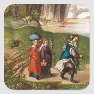 Lot and His Daughters by Albrecht Durer Stickers