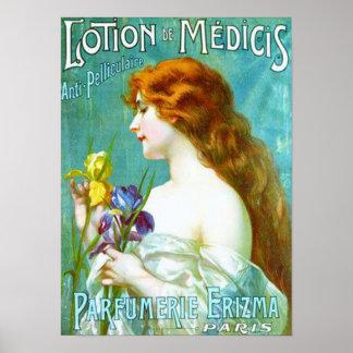 Lotion de Medicis Anti-Pelliculaire Poster