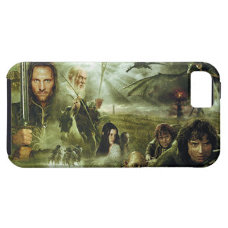 LOTR Movie Poster Art iPhone 5 Cover