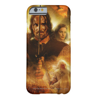 LOTR: ROTK Aragorn Movie Poster Barely There iPhone 6 Case