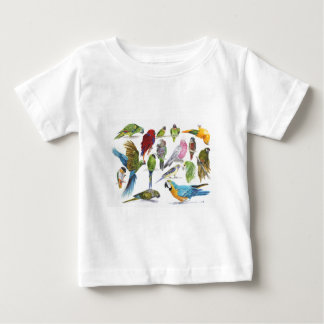 Lots and lots of Parrots on lots and lots of gifts Baby T-Shirt