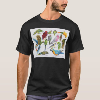 Lots and lots of Parrots on lots and lots of gifts T-Shirt