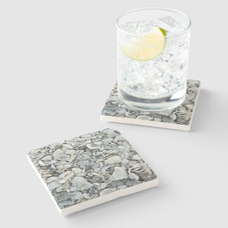 Lots And Lots Of Seashells Stone Coaster