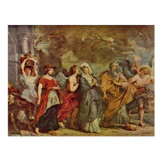 Lots escape by Paul Rubens Postcard