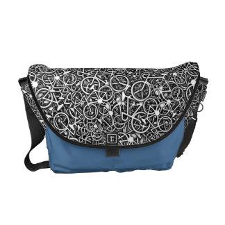 Lots 'n' Lotsa Bikes - Cyclist's Shoulder Bag Courier Bag