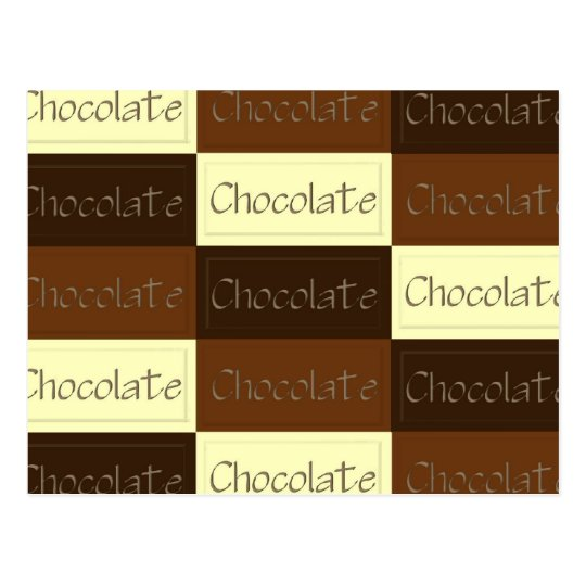 Lots of Chocolate Recipe Card