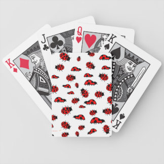 Lots of Cute Ladybugs Deck of Playing Cards
